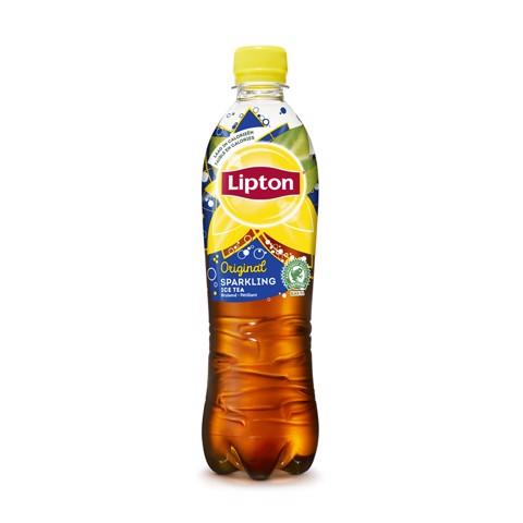Lipton Ice Tea Sparkling PET tray 12x0,50L