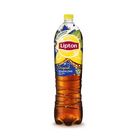 Lipton Ice Tea Sparkling PET tray 6x1,50L