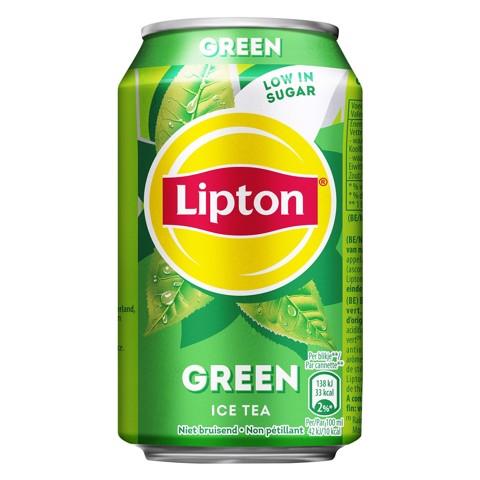Lipton Ice Tea Green blik  tray 24x0,33L