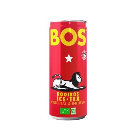 BOS Ice Tea Rooibos Original blik tray 12x0,25L