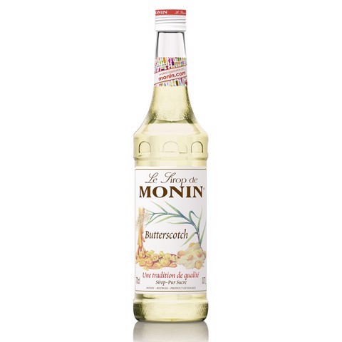 Monin Siroop Butterscotch     fles 0,70L