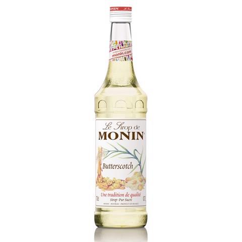 Monin Siroop Butterscotch     fles 0,70L