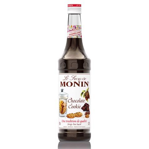 Monin Siroop Chocolate Cookie fles 0,70L