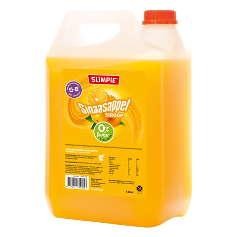 Slimpie Siroop Sinaasappel     can 5,00L