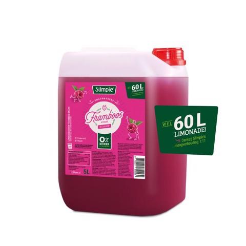 Slimpie Siroop Framboos        can 5,00L