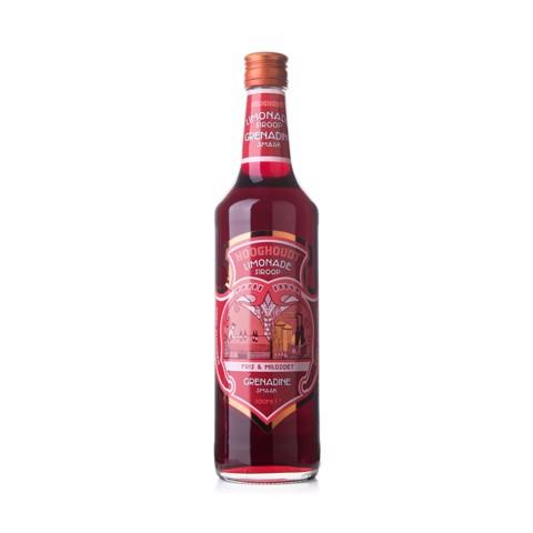 Hooghoudt Grenadine Siroop    fles 0,70L
