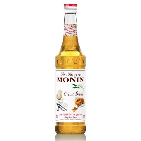 Monin Siroop Creme Brulee     fles 0,70L