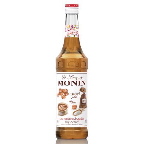 Monin Siroop Salted Caramel   fles 0,70L