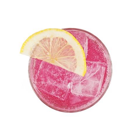 Pinkyrose Spiced Lemon & Rose Lemonade blik tray 12x0,25L