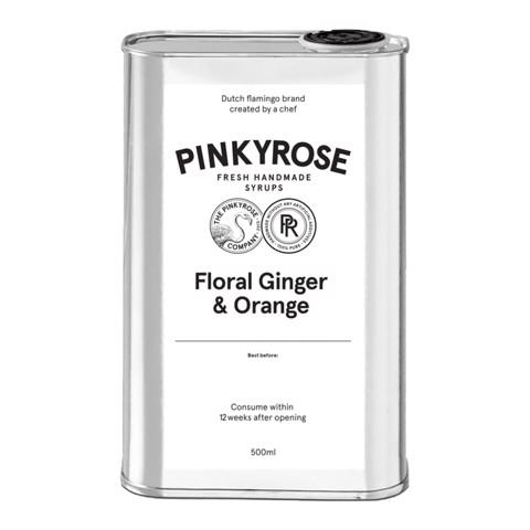 Pinkyrose Floral Ginger & Orange  blik 0,50L