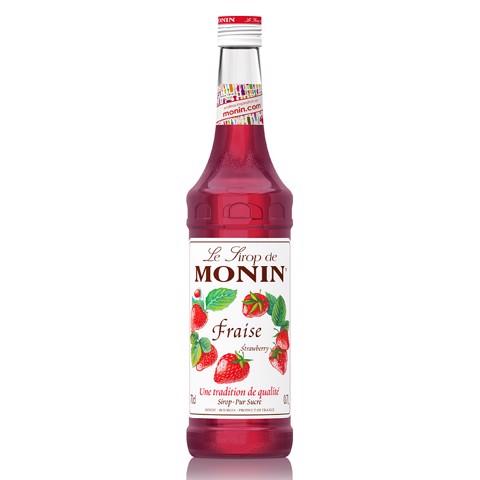 Monin Siroop Fraise           fles 0,70L