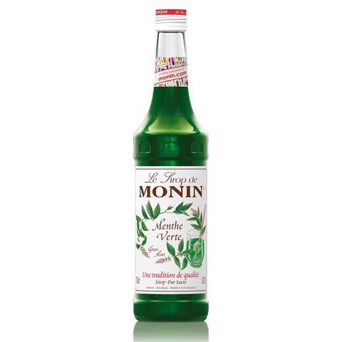 Monin Siroop Menthe           fles 0,70L