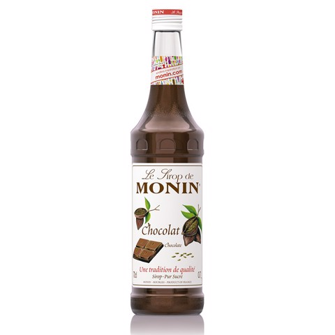 Monin Siroop Chocolat         fles 0,70L