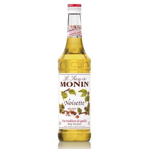 Monin Siroop Hazelnut         fles 0,70L