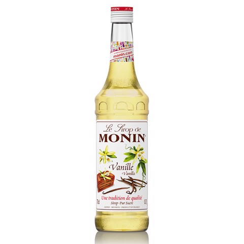 Monin Siroop Vanille          fles 0,70L