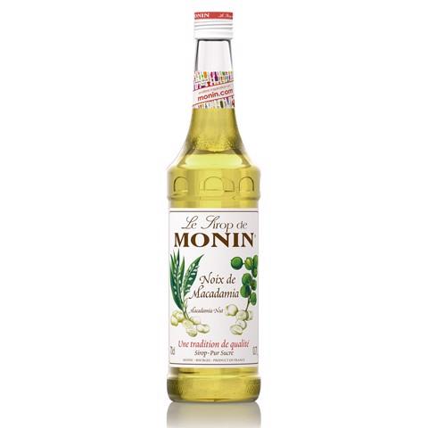 Monin Siroop Macadamia        fles 0,70L