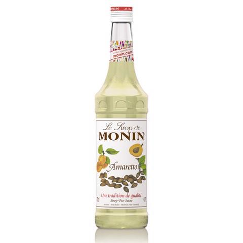 Monin Siroop Amaretto         fles 0,70L