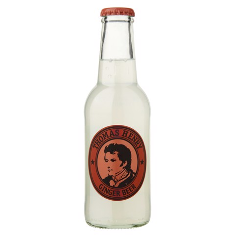 Thomas Henry Ginger Beer   doos 24x0,20L