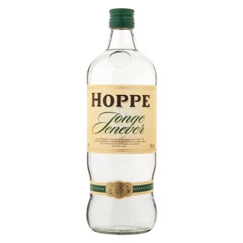 Hoppe Jonge Jenever           fles 1,00L