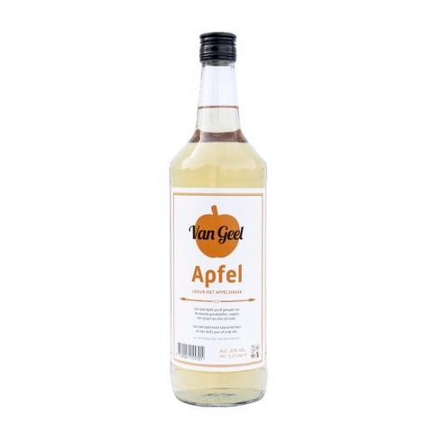 Hooghoudt Van Geel Apfel      fles 1,00L