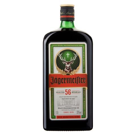 Jagermeister       fles 1,00L