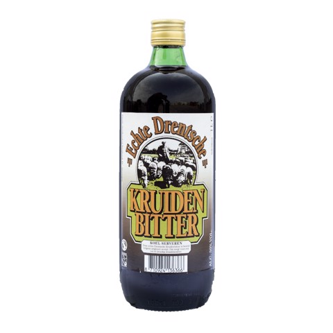 Drentse Kruidenbitter         fles 1,00L
