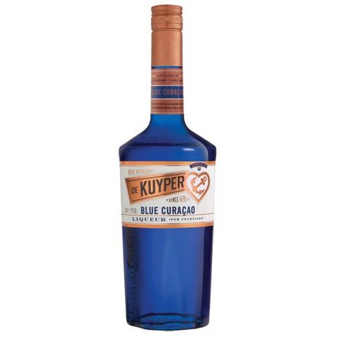 De Kuyper Blue Curacao       fles 0,70L