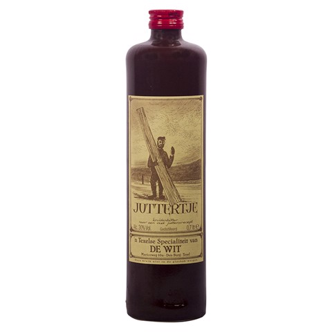 Juttertje Kruidenlikeur       fles 0,70L