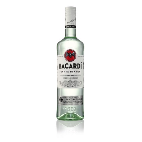Bacardi Carta Blanca Rum       fles 0,70L