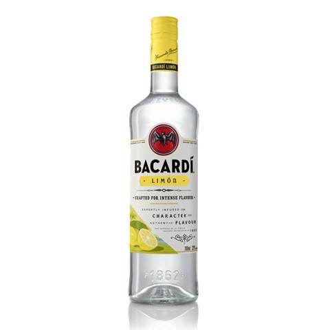 Bacardi Limon Rum             fles 1,00L