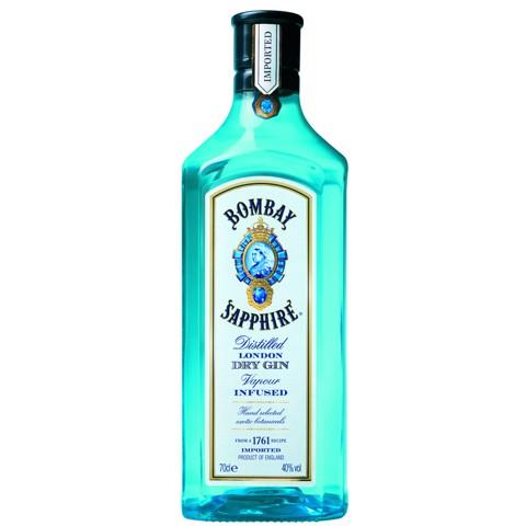 Bombay Sapphire Gin           fles 0,70L