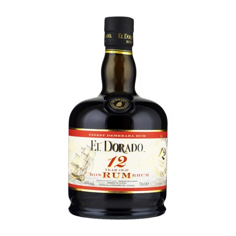 El Dorado Rum 12 YO          fles 0,70L