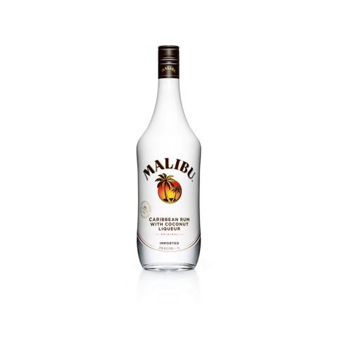 Malibu Coconut Rum            fles 1,00L