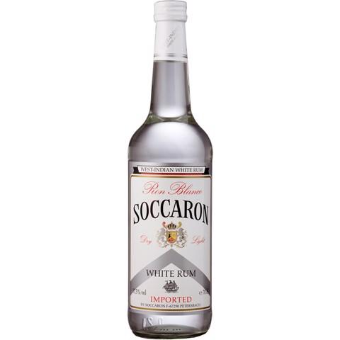Soccaron White Rum               fles 0,70L