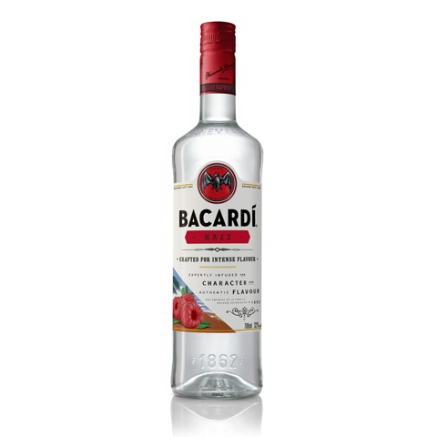 Bacardi Razz Rum              fles 0,70L