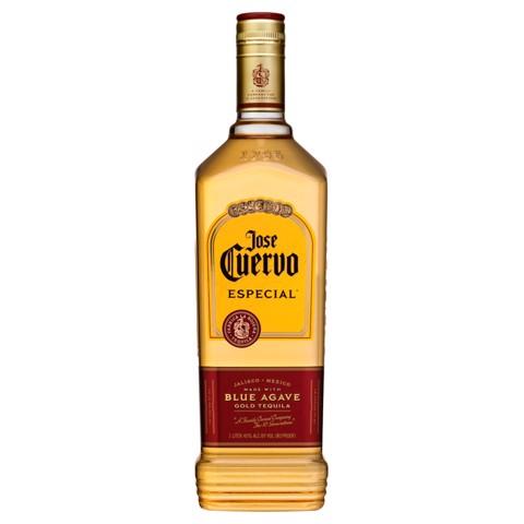 Jose Cuervo Especial Gold Tequila fles 1,00L