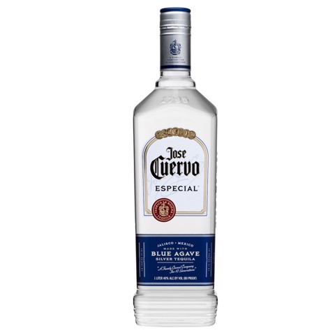 Jose Cuervo Especial Silver Tequila  fles 1,00L