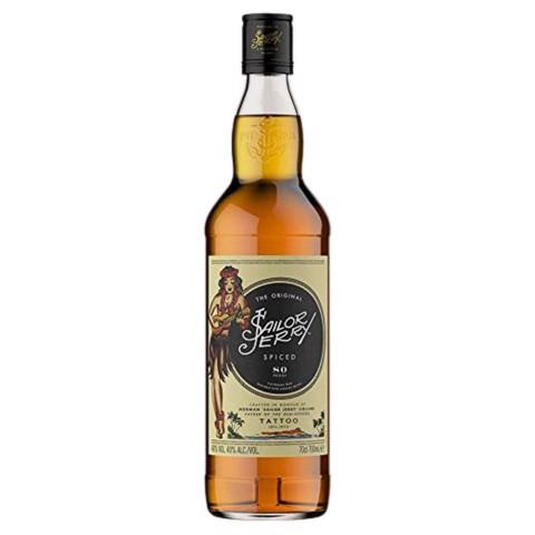 Sailor Jerry Spiced Rum       fles 0,70L