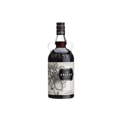 The Kraken Black Spiced Rum   fles 0,70L