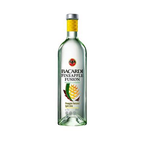 Bacardi Pineapple Fusion Rum      fles 0,70L