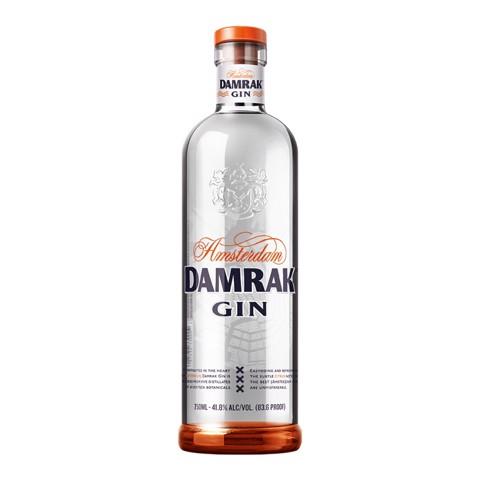 Damrak Gin                    fles 0,70L