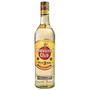 Havana Club White Rum 3 YO   fles 0,70L