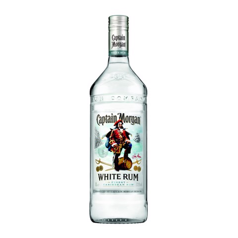 Captain Morgan White Rum      fles 1,00L
