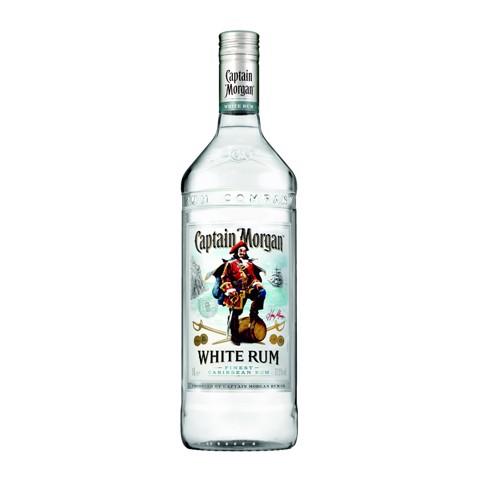 Captain Morgan White Rum      fles 1,00L