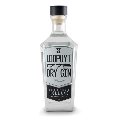 Loopuyt 1772 Dry Gin          fles 0,70L