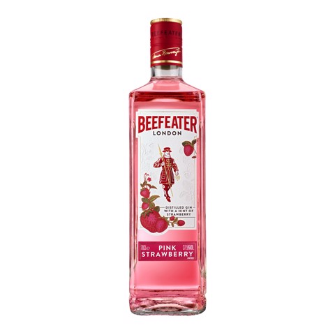 Beefeater Pink Strawberry Gin            fles 0,70L