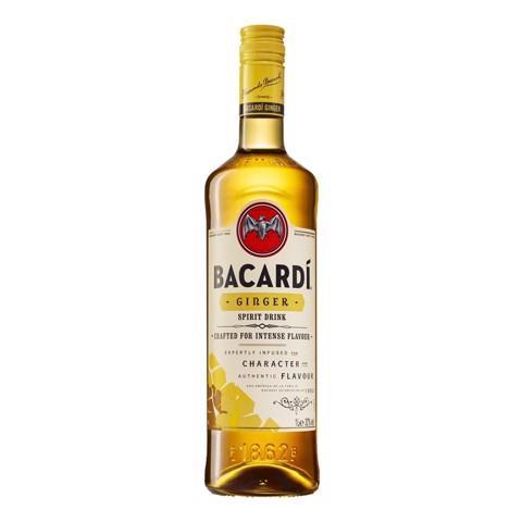 Bacardi Ginger Rum            fles 1,00L