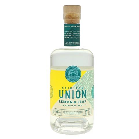 Union Lemon & Leaf Botanical Rum  fles 0,70L