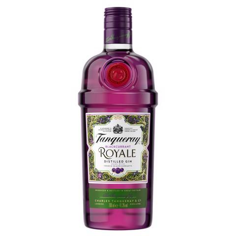 Tanqueray Blackcurrant Royale fles 0,70L