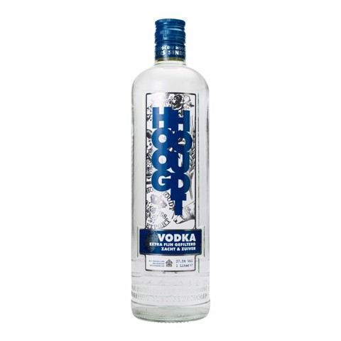 Hooghoudt Vodka               fles 1,00L